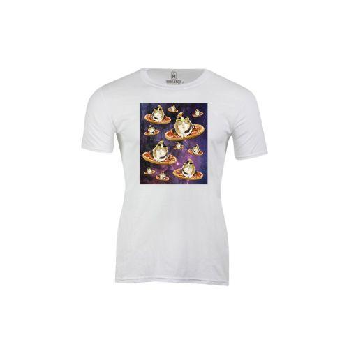 Pánské tričko  Morče ve vesmíru
