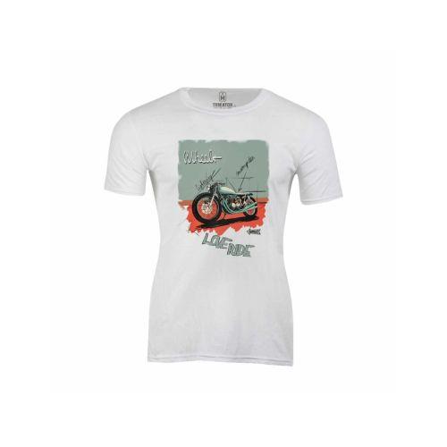 Pánské tričko Láska k motorkám