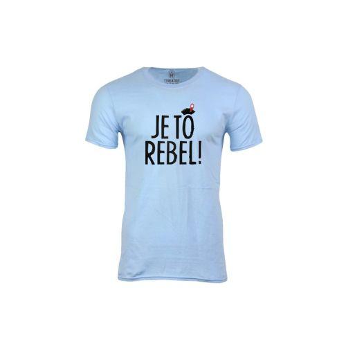 Pánské tričko Je to rebel!
