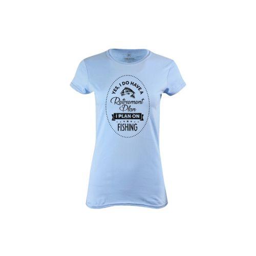 Dámské tričko Rybolov