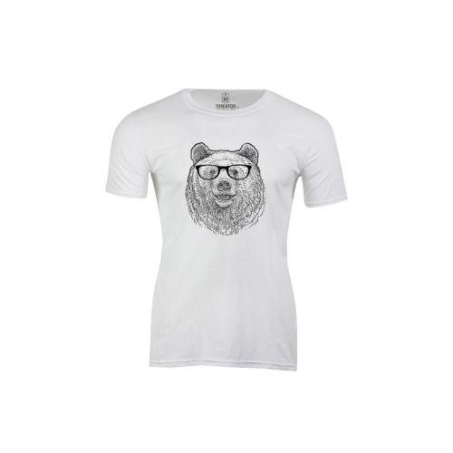 Pánské tričko Chytrý medvěd