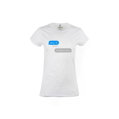 Dámské tričko iMessage