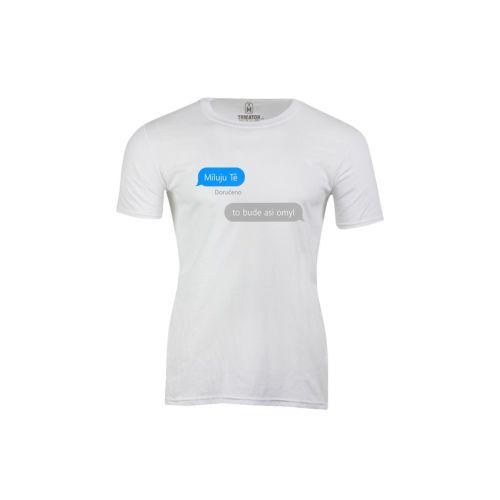 Pánské tričko iMessage