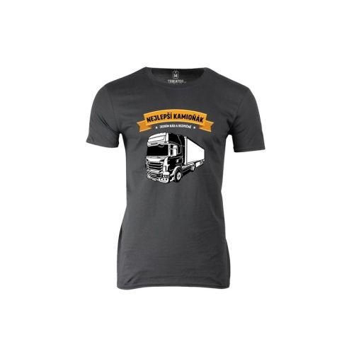 Pánské tričko Nejlepší Kamioňák