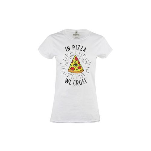 Dámské tričko In pizza we crust