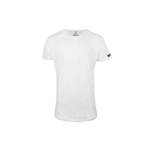 Pánské bílé tričko Long