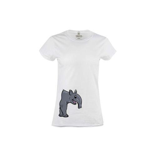 Dámské tričko Roztomilý tapír