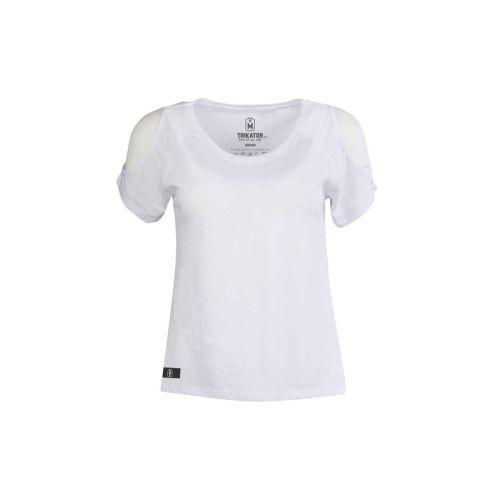 Dámské bílé tričko Back