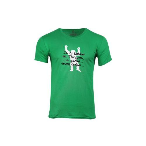 Pánské tričko Čekám na tarzana