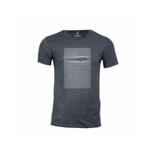 Pánské šedé tričko Kuk