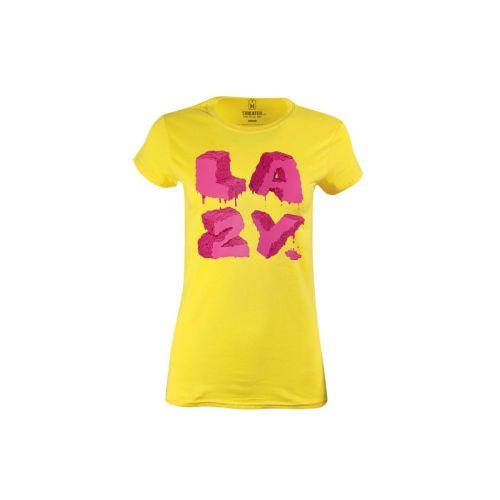 Dámské tričko s nápisem Lazy
