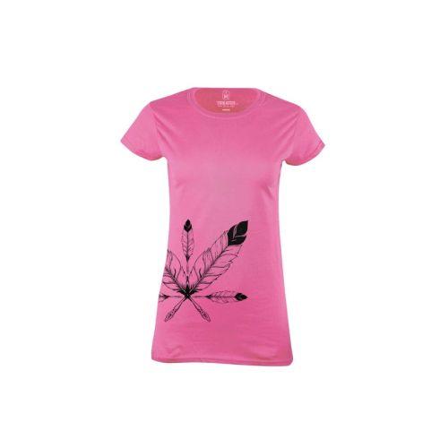 Dámské tričko Peří
