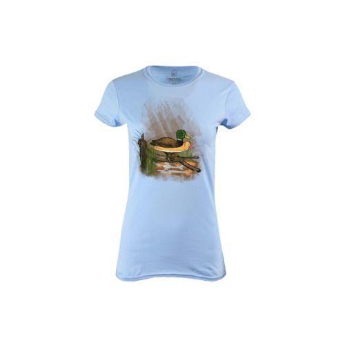 Dámské tričko Kachna neplavec