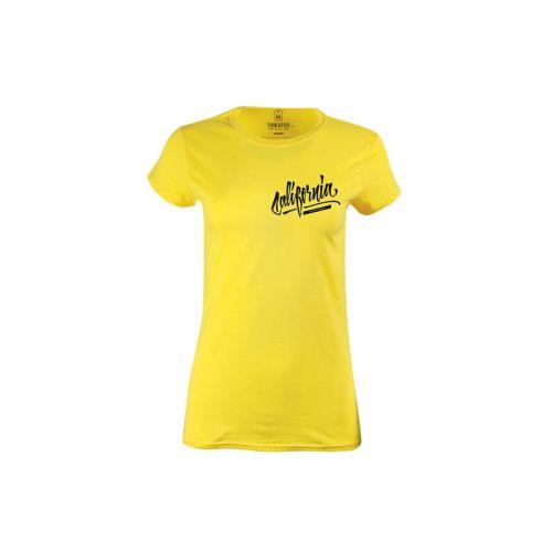 Dámské tričko s nápisem California