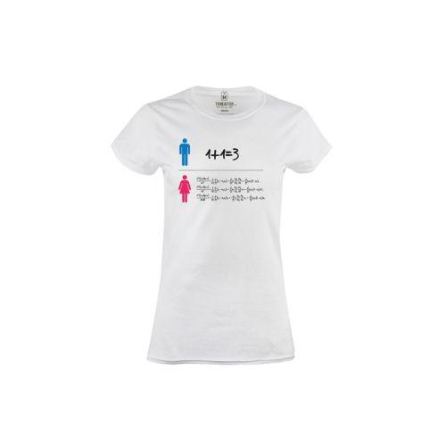 Dámské tričko Gender rovnice