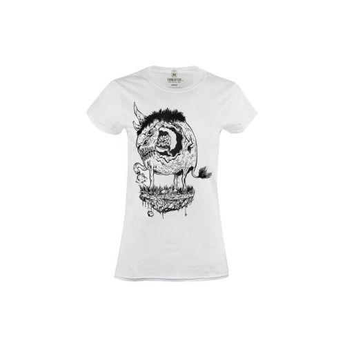 Dámské tričko Děravý Nosorožec