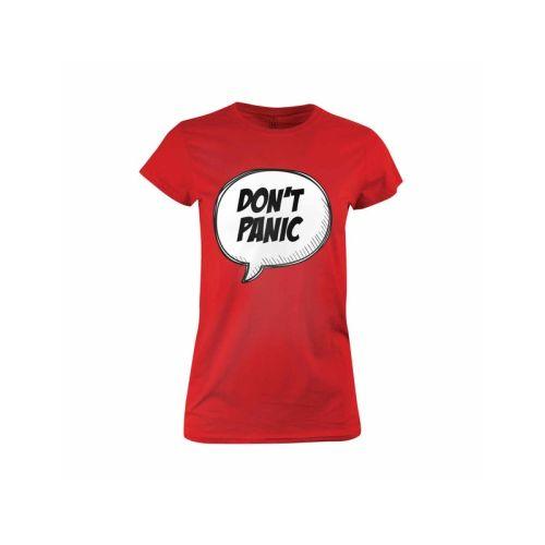 Dámské tričko Don't Panic