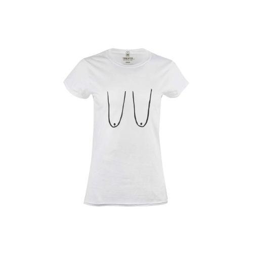 Dámské tričko Visací prsa