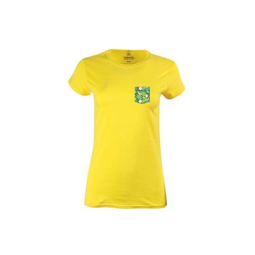 Dámské žluté tričko Tropocket