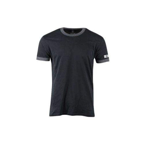 Pánské tmavé tričko Melange