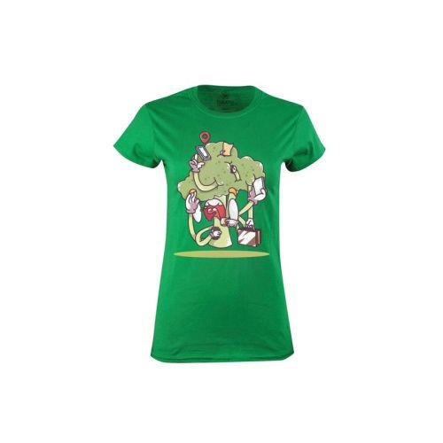 Dámské tričko Brokolice