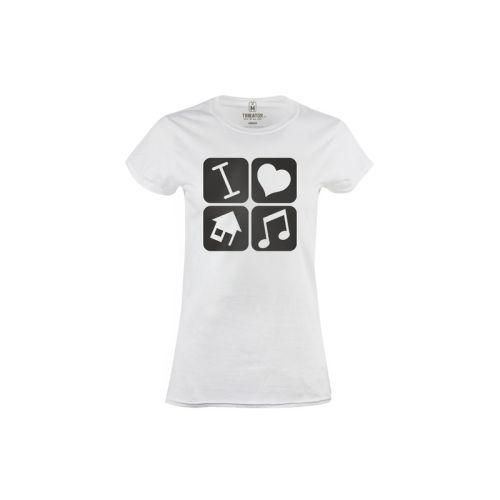 Dámské tričko Miluju House