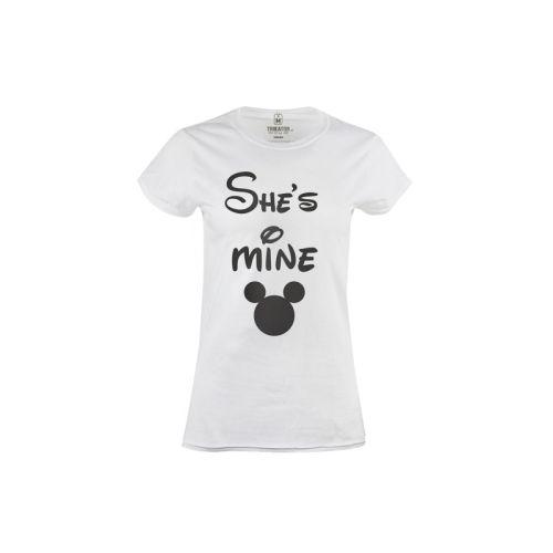 Pánské tričko She's mine Minnie Mouse