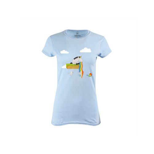 Dámské tričko Jak se zrodil papoušek
