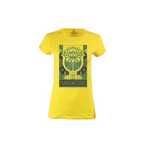 Dámské tričko Zelená síla