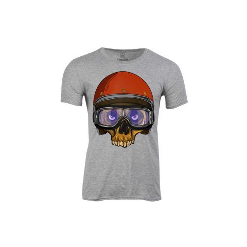 Pánské tričko Lebka s helmou