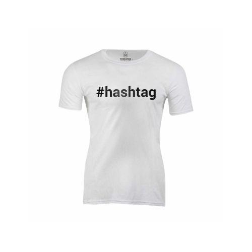Dámské pánské tričko Hashtag