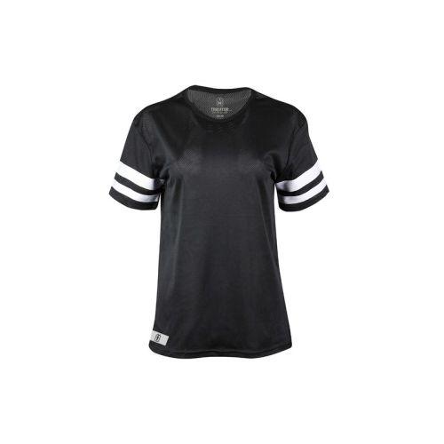 Dámské černobílé tričko Stripes