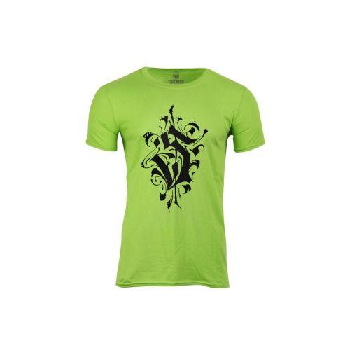 Pánské žluté tričko s písmenem S