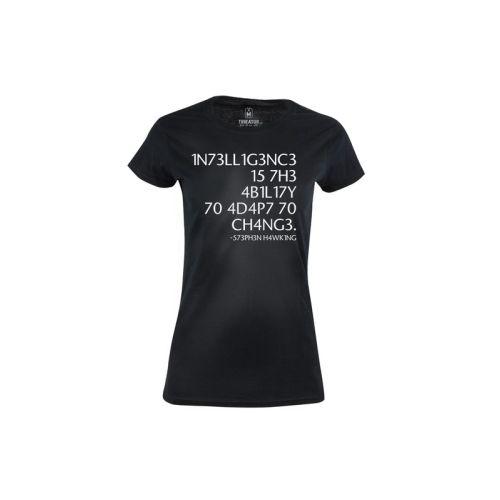 Dámské tričko Test inteligence