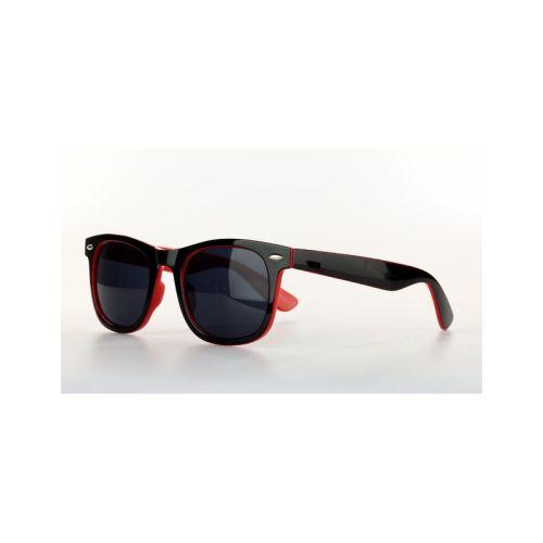 Sluneční černo-červené brýle