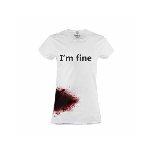 Dámské krvavé tričko