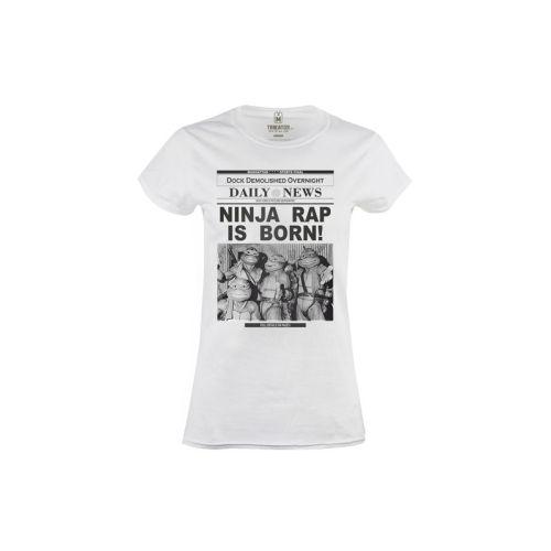 Dámské tričko Ninja Rap Born