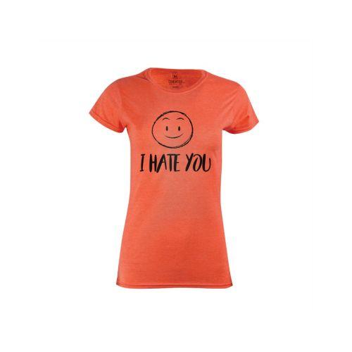 Dámské tričko Smajlíkový hater
