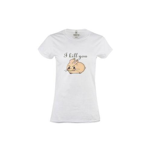 Dámské tričko Drsný králíček