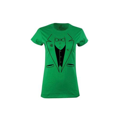 Dámské zelené tričko Irské Taxido