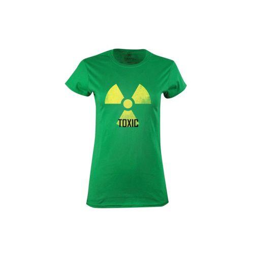 Dámské tričko s nápisem Toxic