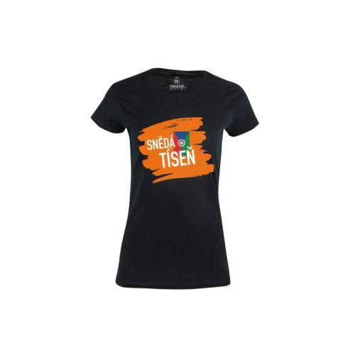 Dámské vtipné tričko Snědá tíseň