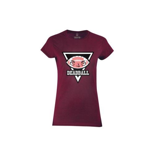 Dámské tričko Drsný Deadball