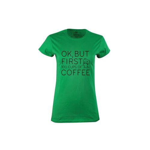Dámské tričko Milovnice káv