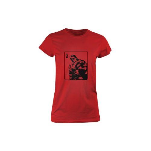 Dámské tričko Srdcové Eso