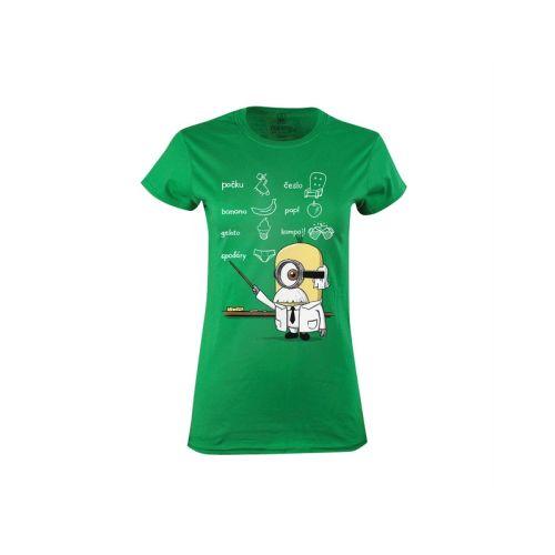 Dámské tričko Žluťas vědátor