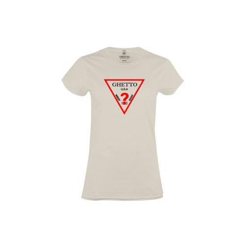 Dámské tričko Ghetto USA