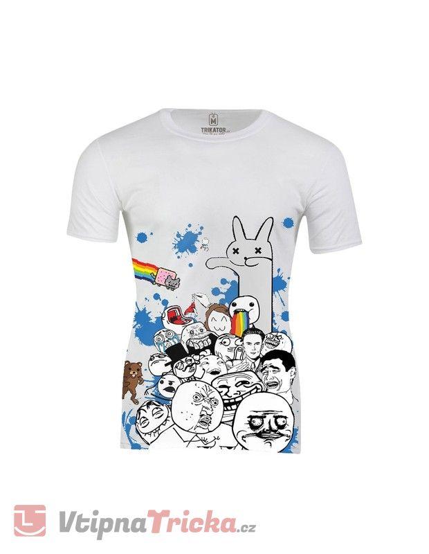 Pánské tričko Legendární Meme  11f4e4e49b