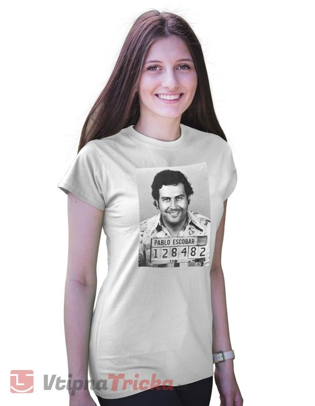 ... Dámské tričko Pablo Escobar 530610579c