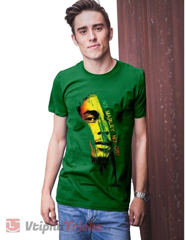 ... Pánské tričko Bob Marley 02e22a2679